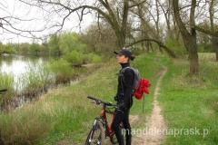 nasz rowerowy szlak poprowadzony jest wzdłuż rzeki Warty