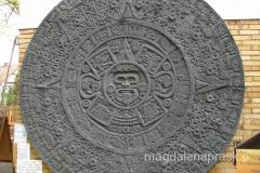 kalendarz Azteków - w Meksyku widziałam oryginał