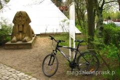 Sfinks, piramida i mój rower