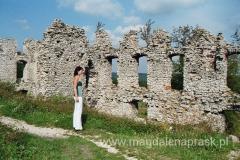 te ruiny dziś, kiedyś były siedzibą rodu Toporczyków, a później Tęczyńskich i Bonerów.