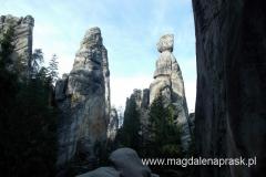 skalne ostańce: Starosta i Starościna