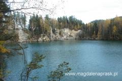 ten zbiornik wodny to pozostałość kopalni