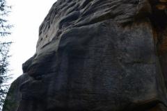 formacja skalna Stary Indianin