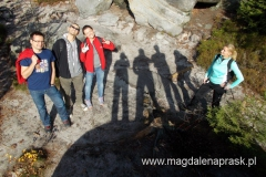 zdjęcie grupowe - było nas siedem osób i w sumie wszyscy jesteśmy na zdjęciu :-)