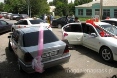 czasami na parkingu były aż trzy ślubne limuzyny równocześnie