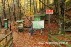 wejście na teren Karkonoskiego Parku Narodowego