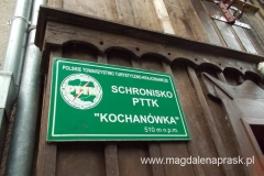 schronisko Kochanówka - tu będziemy nocować