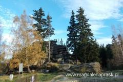 kozice na szczycie skałek w centrum Szklarskiej Poręby :-)