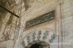 detal meczetu Sultan Bayezid II Camii