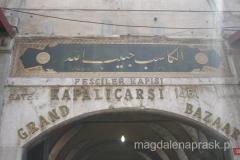 Kapali Carsi czyli Kryty Bazar działa od 1461r. - dziś to duża atrakcja turystyczna miasta