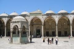 dziedziniec Błękitnego Meczetu