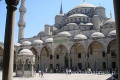 Błękitny Meczet - podobno najbardziej wystawny meczet na świecie
