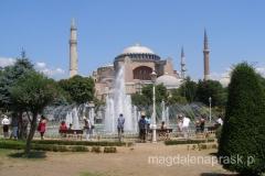 Hagia Sophia to monumentalna świątynia bizantyjska dziś pełniąca funkcję muzeum
