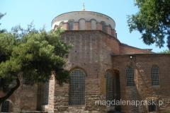 Hagia Eirene - kościół św. Ireny - dawna konstantynopolska katedra - budowla pochodzi z czasów Konstantyna