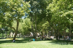 park okalający Pałac Topkapi