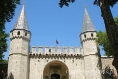 kolejna brama do Pałacu Topkapi