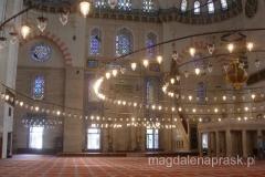 wnętrze Suleymaniye Camii