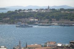 widok z Wieży Galata