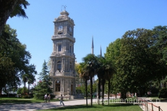 wieża zegarowa Pałacu Dolmabahce