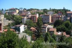 dzielnica mieszkalna w pobliżu Mostu Bosforskiego