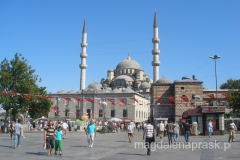 meczet Yeni w pobliżu Mostu Galata