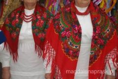 strojne chusty ludowego stroju z Małopolski