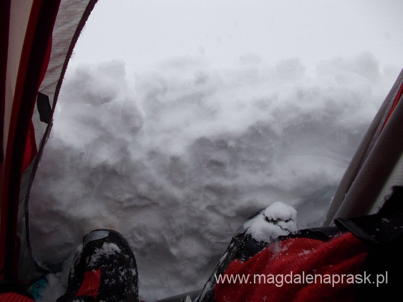 w nocy mocno śniegiem sypnęło...