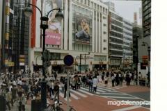skrzyżowanie w Shibuya - dzielnicy Tokio