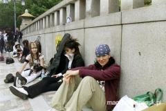 ze zbuntowaną młodzieżą w dzielnicy Harajuku