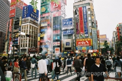 Shinjuku – naszpikowana wieżowcami dzielnica Tokio.
