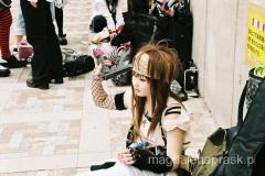 zbuntowana młodzież w dzielnicy Harajuku