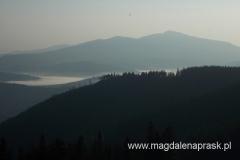poranek na Hali Mizowej - widok na Babią Górę
