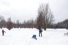 Śmigus Dungus A.D. 2013 czyli bitwa na śnieżki