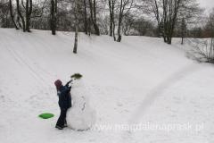 Wielkanocne zabawy na śniegu