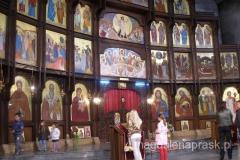 monumentalne wnętrze cerkwi św. Klimenta Ochrydzkiego