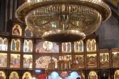 ikonostas w cerkwi św. Klimenta Ochrydzkiego