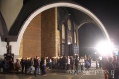przed cerkwią św. Klimenta Ochrydzkiego