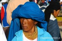 na ekwadorskim bazarze