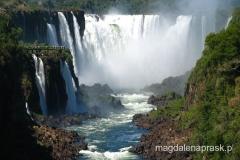 wodospad Iguasu na pograniczu Argentyny i Bazylii