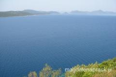 chorwackie wybrzeże pełne jest wysepek