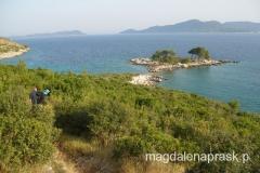 nasza bezludna wyspa, która za dnia delikatnie łączy się z lądem