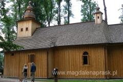 zabytkowy kościółek pw. Matki Boskiej Częstochowskiej, najstarszy drewniany kościół w Zakopanem