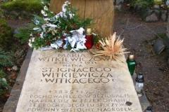grób Marii Witkiewiczowej - matki Witkacego
