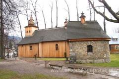 kościółek pw. Matki Boskiej Częstochowskiej powstały w latach 1847–1852