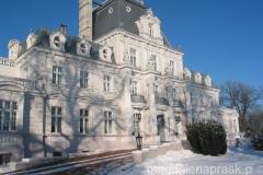 pałac neorenesansowy w stylu francuskim