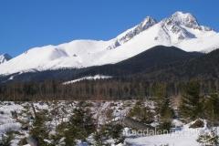 przysypane śniegiem Tatry Bielskie