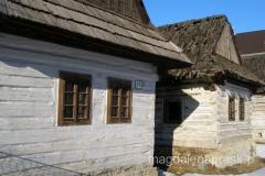 Podbiel - tradycyjna drewniana zabudowa