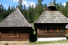 na terenie Muzeum Wsi Orawskiej