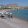 Charaki, Feraklos i plaża św. Agaty