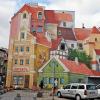 trójwymiarowy mural na Śródce w Poznaniu